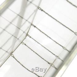 CHANEL plastic shoulder bag clear AK17451b