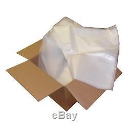 CLEAR PLASTIC POLYTHENE BAG HEAVY DUTY 100cm x 100cm 500 Gauge (125 micron)