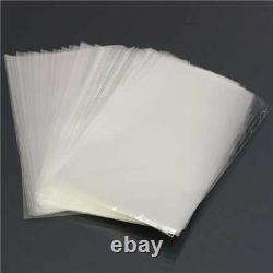 CLEAR Polythene Food Craft Plastic Bags 200 Gauge