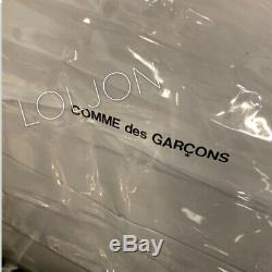 COMME DES GARCONS GOOD DESIGN SHOP Clear PVC Shopper Tote Bag DEADSTOCK RARE CDG