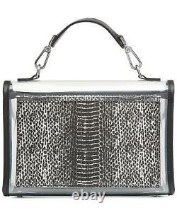 Calvin Klein Statement Series Lock Limited Edition Transparent Bag B4HP MSR $298