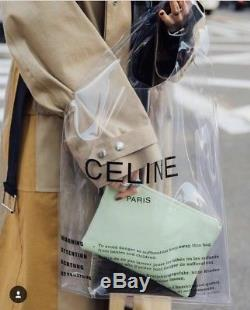 Celine Plastic Clear Bag Bloggers With Purse PRE ORDER LIMITED EDITION RARE
