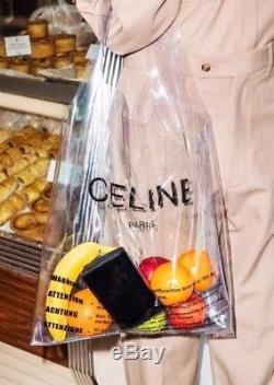 Celine Plastic Clear Bag ONLY Philo SS18 LIMITED EDITION RARE