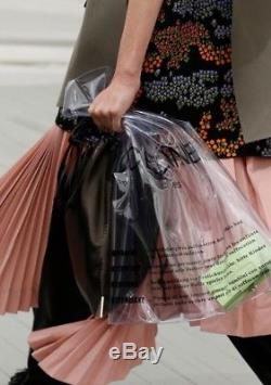 Celine Plastic Clear Bag Only Philo Ss 2018 Ultra Limited New