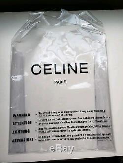 Celine SS18 Plastic Bag