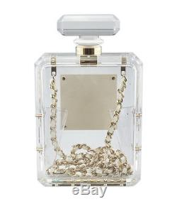 Chanel A69825 Clear Plastic Evening Bag