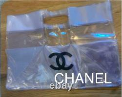 Chanel Plastic Bag Clear Handbag