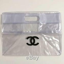 Chanel Plastic Bag Clear Handbag Rare