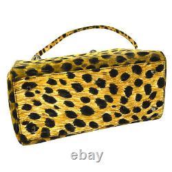 Christian Dior Lady Dior Cheater 2way Hand Bag MA1928 Beige Black AK38428h