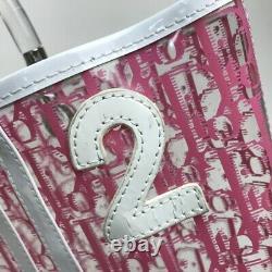 Christian Dior Trotter Plastic Bags Handbag Vinyl Razor Women'S Clear No. 3249