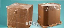 Clear 2Mil Gaylord Liners/ Pallet Covers 36 x 36 x 72 Plastic Poly Bags LDPE USA