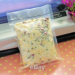 Clear/Lines Open Top Plastic Heat Seal Nylon Vacuum Food Bag Food Packaging Bags