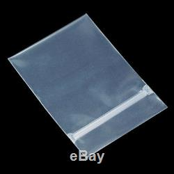 Clear PPE Zip Lock Bag Anti-oxidation Plastic Packaging Pouch Resealable Jewelry