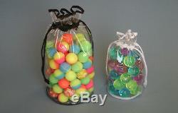 Clear PVC Drawstring Bags