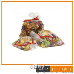 Clear Polythene Plastic Food Bags Freezer Storage 15x20 200 Gauge 20000 Pcs