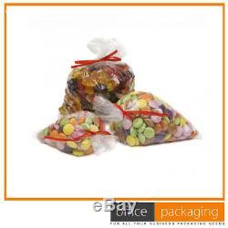 Clear Polythene Plastic Food Bags Freezer Storage 18x24 200 Gauge 20000 Pcs