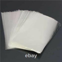 Clear Polythene Poly Plastic Bags 100g All Sizes For Crafts Food 10 50 100 500