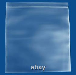 Clear Reclosable Bags 10x10 2Mil Top Seal Jewelry Plastic Polybags 4000 Pieces