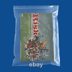 Clear Reclosable Plastic Bags 16 x 20 4 Mil, Big Self Seal Baggies Pack of 500