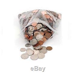 Clear Reclosable Plastic Bags Water-Resistant 7.6cm x 15cm 2 Mil 10000 Pieces