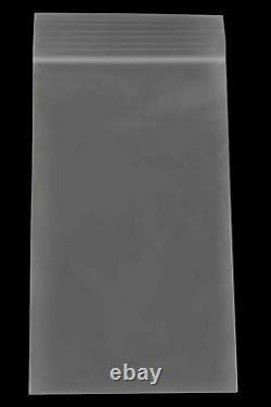 Clear Ziplock Reclosable Plastic Bag, 4 Mil, 3 x 5 12000 Pieces