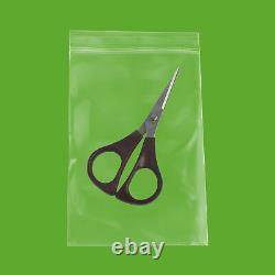 Clear Ziplock Reclosable Plastic Bag, 4 Mil, 4 x 6 10000 Pieces