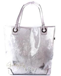 Coach F16594 Clear Plastic Extra Large Beach Tote Bag
