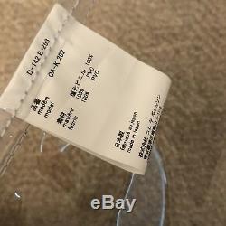Comme Des Garcons Clear Plastic Tote Bag
