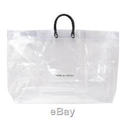 Comme des Garcons clear plastic bag