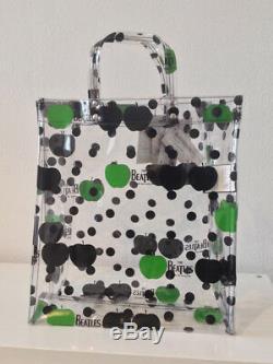 Comme des Garcons x The Beatles Transparent Plastic Tote Bag New