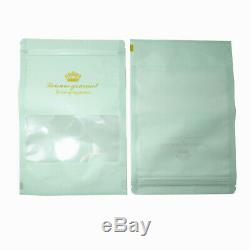 Crown Print Plastic for Zip Bags Clear Lock Window Poly Reclosable Food Pouches