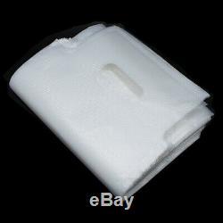 DHL 1628cm 1000/Lot Poly Packaging Bag Portable Plastic Clear Shopping Bag Take