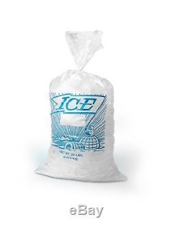 Elkay Plastics H21PMET Metallocene Ice Bag Printed 12 x 21 Clear Pack of 1