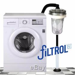 Filtrol 160 Washing Machine Laundry Lint Filter for Septic with 1 Filter Bag