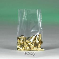 Flat Poly Bag, 10 x 17 Inch, 1000 Pack, 2 Mil, Clear