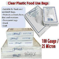 Food Grade Bags Sandwich Storage Bag Polythene Plastic Clear Brand Worthminster