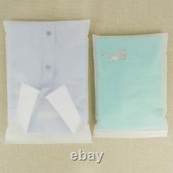 Frosted Plastic Bags for Zip Resealable Grip Seal Lock Gift Travel Storage Pouch