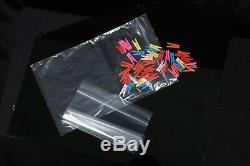 Grip Seal Bag Resealable Clear Plastic ZIP LOCK Polythene for Food Freeze safe