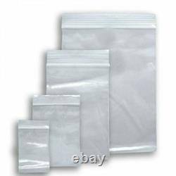 Grip Seal Bags Self Resealable Mini Grip Poly Plastic Clear Zip Lock All Sizes