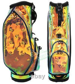HONMA Honma Golf Clear Caddy Bag CB12060 Aurora Gold Black Size 9 inches 3.8kg