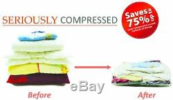 Heavy Duty Vacuum Storage Gorilla Bags Extra Strong 110 Microns Double Zip Seal