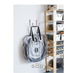 Ikea Dimpa Large Plastic Strong Storage Zip Bag For Blanket Duvet Bedding  Waste
