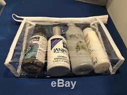 Job Lot Of 400 Clear Bags Plastic PVC Travel Cosmetic Toiletry Zip Bag