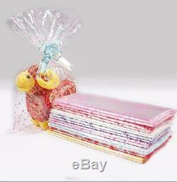 Large Plastic Gift Package Bag 100pcs/lot 4 sizes Plastic Packaging Bag Clear Ce