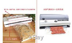 Lines Nylon Plastic Heat Seal Vacuum Bags Open Top Clear Food Storage Pouches