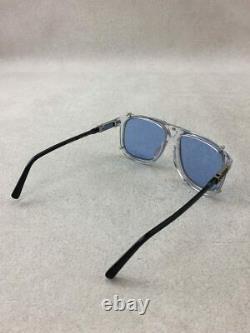 Louis Vuitton Sunglasses Men LV Satellite Z1257E Blue Clear WithCase, Storage Bag