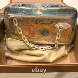 Louis Vuitton Volga Prism Hand Chain Bag Pochette Clutch M55261 Virgil Abloh New