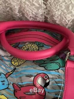 Luv Betsey by Betsey Johnson Wes Duffle Bag Set NWT