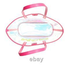 MCM Medium Flo Transparent Holographic Shopper Bag B1109