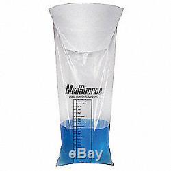 MEDSOURCE Vomit Bag, Clear, Plastic, PK240, MS-17360, Clear